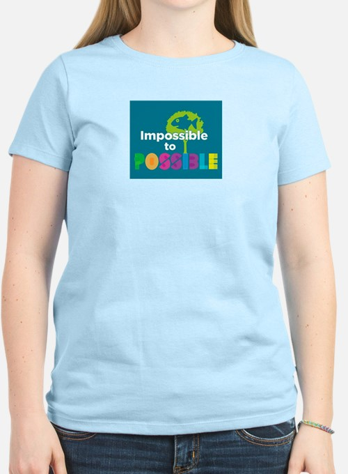 Impossible to possible Fish in a Tree T-Shirt