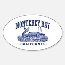 Monterey Bay Sticker (Oval)