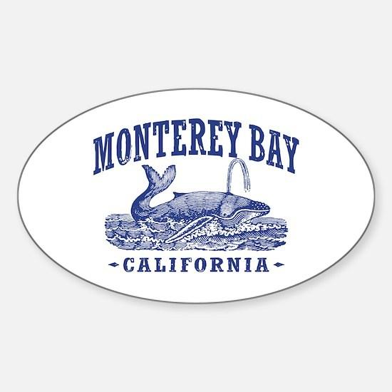 Monterey Bay Sticker (Oval)