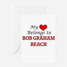My Heart Belongs to Bob Graham Beac Greeting Cards