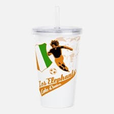 Cote D Ivore football Acrylic Double-wall Tumbler