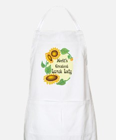 World's Greatest Lunch Lady BBQ Apron