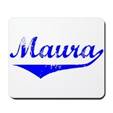 Maura Vintage (Blue) Mousepad