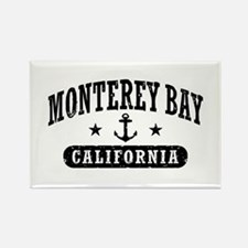 Monterey Bay Rectangle Magnet