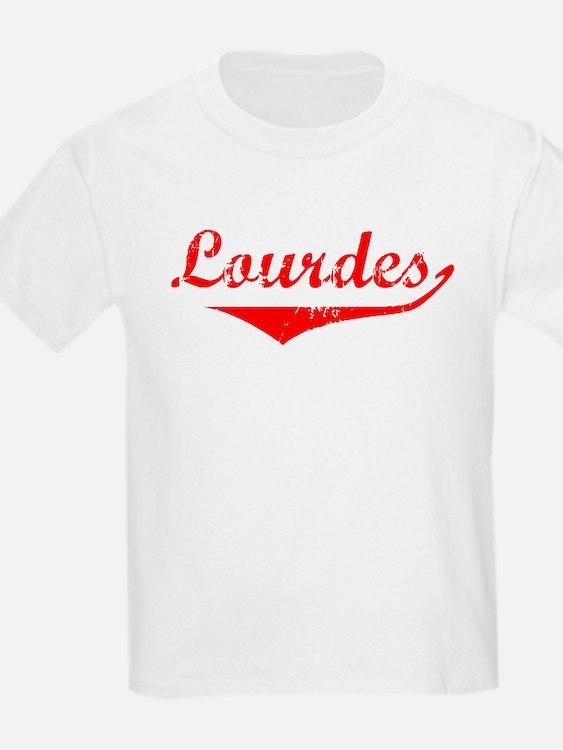 Lourdes Vintage (Red) T-Shirt