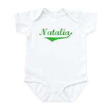 Natalia Vintage (Green) Infant Bodysuit
