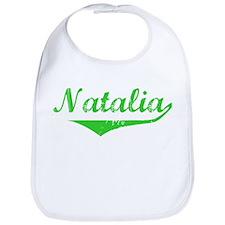 Natalia Vintage (Green) Bib