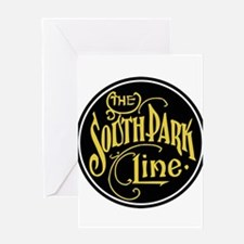 Denver South Park Line Railroad Greeting Cards