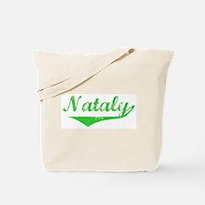 Nataly Vintage (Green) Tote Bag