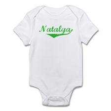 Natalya Vintage (Green) Infant Bodysuit
