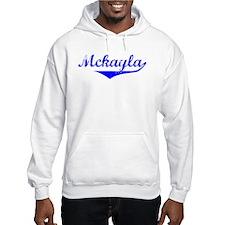 Mckayla Vintage (Blue) Hoodie Sweatshirt
