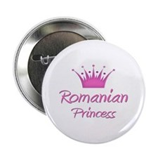 "Romanian Princess 2.25"" Button"