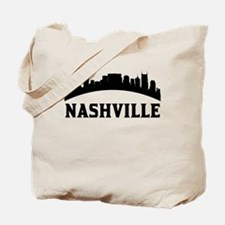 Nashville TN Skyline Tote Bag