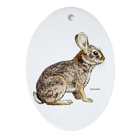 Cottontail Rabbit Keepsake (Oval)