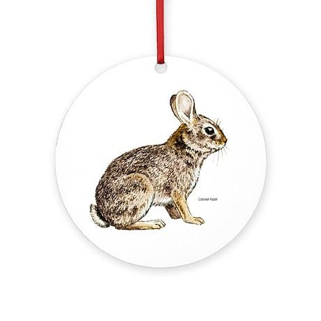 Cottontail Rabbit Keepsake (Round)