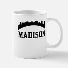 Madison WI Skyline Mugs