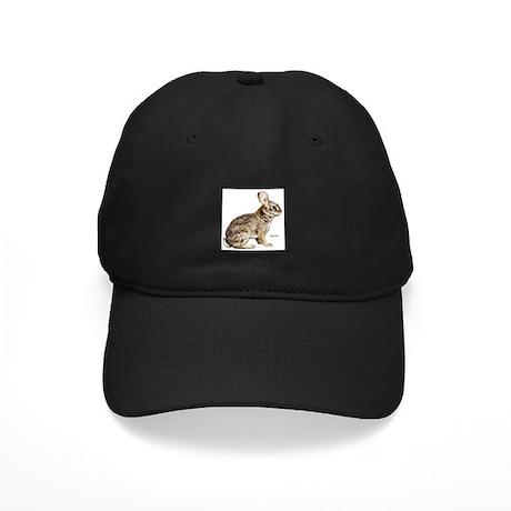 Cottontail Rabbit Black Cap