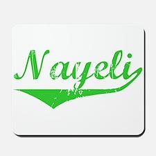 Nayeli Vintage (Green) Mousepad