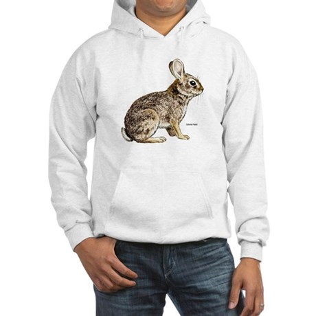 Cottontail Rabbit Hooded Sweatshirt
