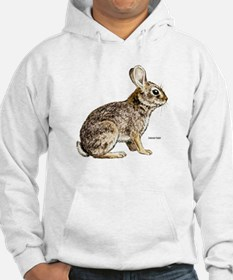Cottontail Rabbit (Front) Hoodie