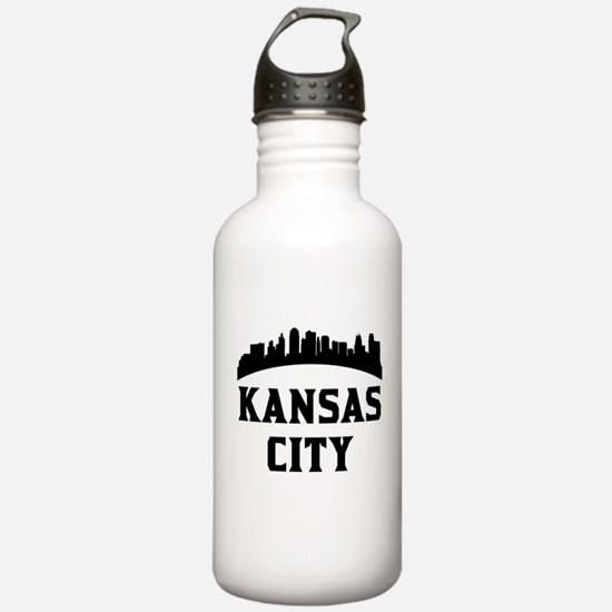 Kansas City MO Skyline Water Bottle