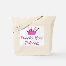 Puerto Rican Princess Tote Bag