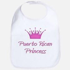Puerto Rican Princess Bib
