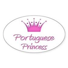 Portuguese Princess Oval Decal