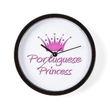 Portuguese Princess Wall Clock