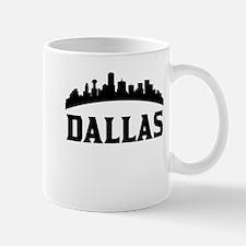 Dallas TX Skyline Mugs