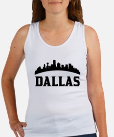 Dallas TX Skyline Tank Top