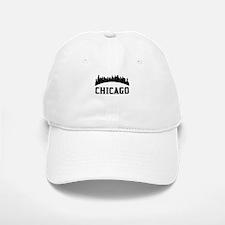 Chicago IL Skyline Baseball Baseball Baseball Cap