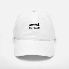 Buffalo NY Skyline Baseball Baseball Baseball Cap