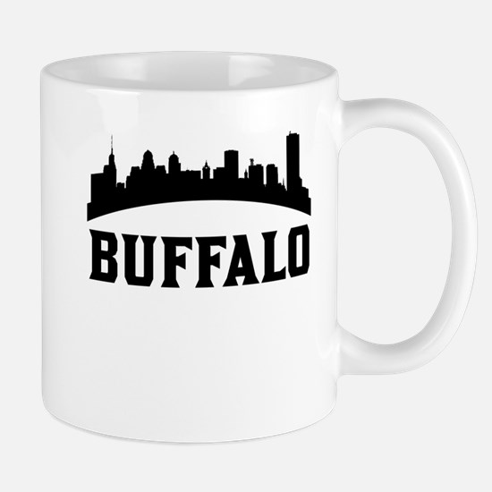 Buffalo NY Skyline Mugs