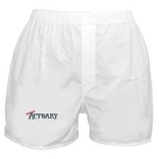 Certified Actuary Boxer Shorts