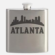 Atlanta GA Skyline Flask