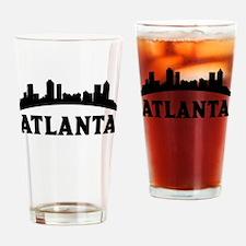 Atlanta GA Skyline Drinking Glass