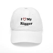 I Love My Rigger Baseball Cap