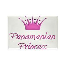 Panamanian Princess Rectangle Magnet (10 pack)