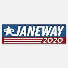 Vote Janeway 2016 Bumper Car Car Sticker