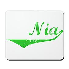 Nia Vintage (Green) Mousepad