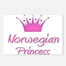 Norwegian Princess Postcards (Package of 8)