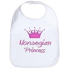 Norwegian Princess Bib