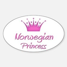 Norwegian Princess Oval Decal