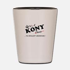 Funny Kony Shot Glass