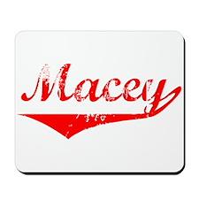 Macey Vintage (Red) Mousepad