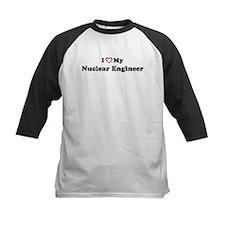 I Love My Nuclear Engineer Tee