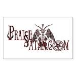 Praise Satan www.praisesatan.com Sticker
