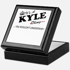 Cute Kyle Keepsake Box