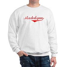 Madalynn Vintage (Red) Sweatshirt